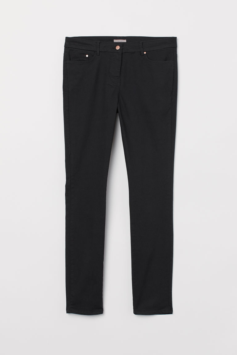 H&M+ Stretch trousers - Black - Ladies | H&M
