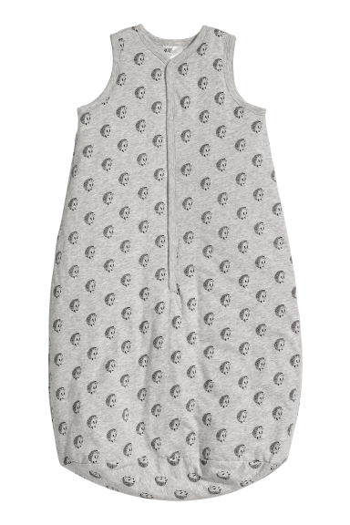 Sleep bag - Light grey marl/Hedgehogs - Kids | H&M CN