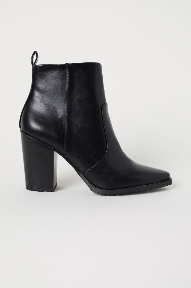 cca9b30b9 Členkové čižmy - čierna - ŽENY | H&M ...