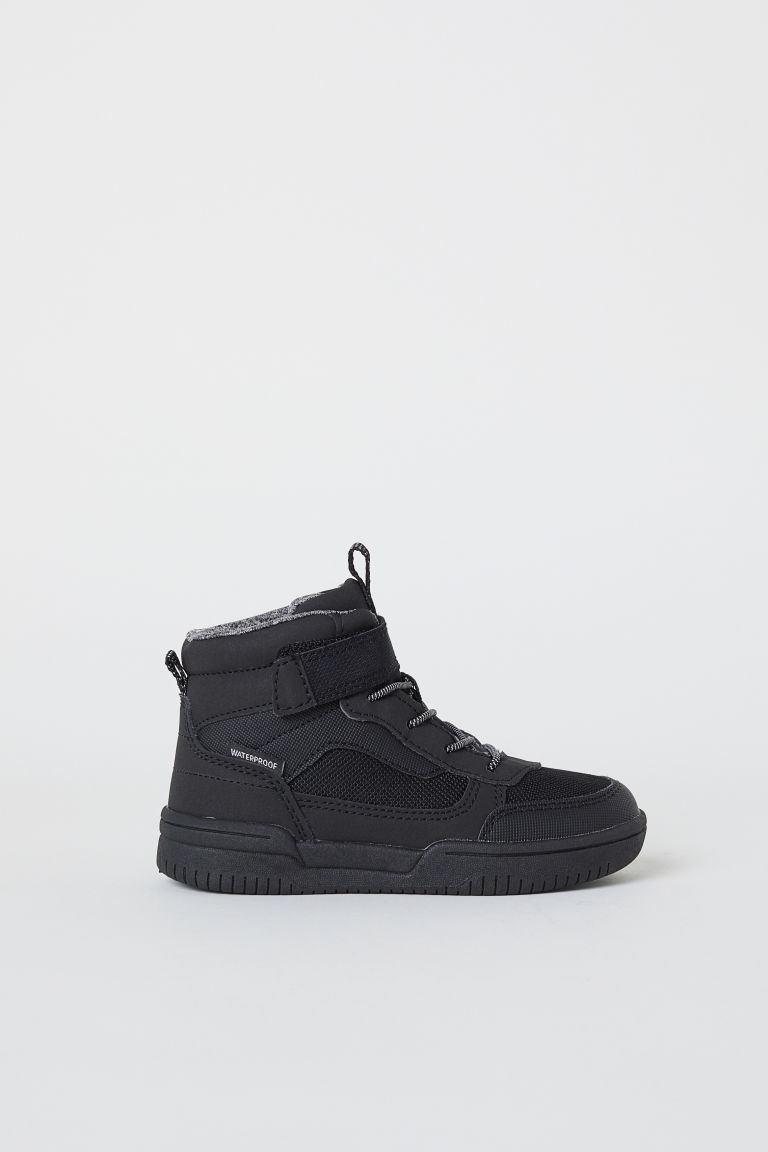 Waterproof hi-tops - Black - Kids | H&M