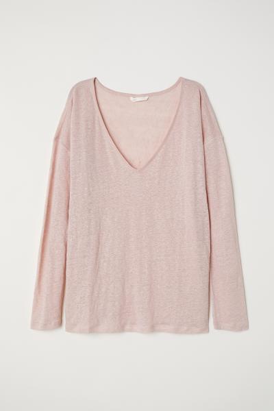 H&M - Camiseta de lino - 1