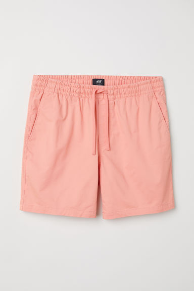 Short en coton - Orange clair - HOMME | H&M BE