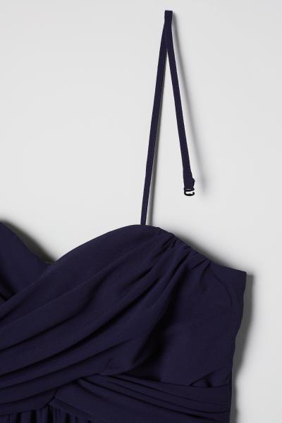 H&M - Vestido largo bandeau - 2