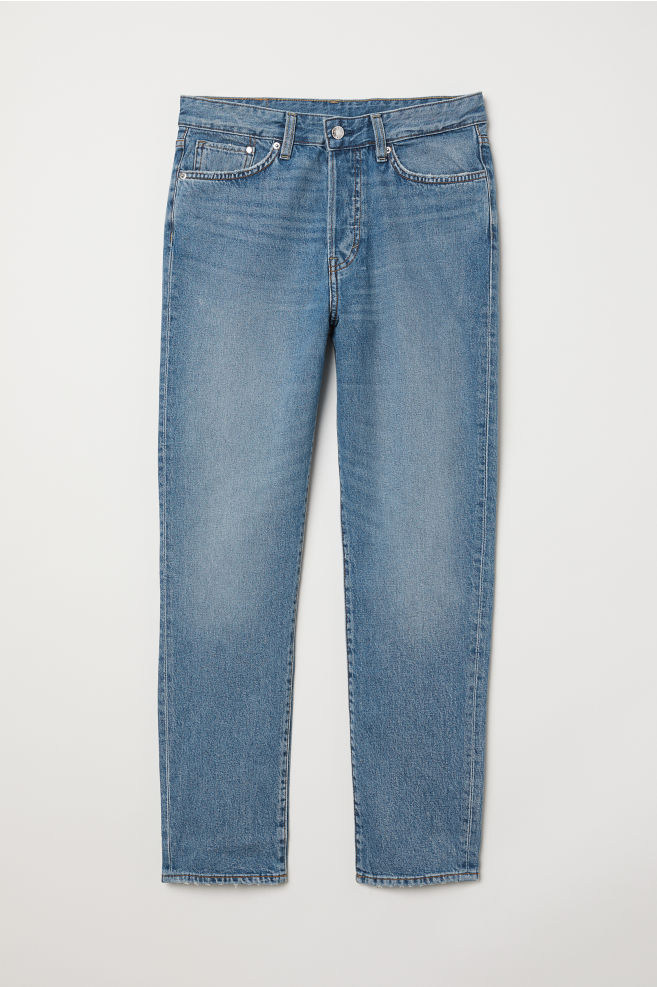f031a8c9c5 Mom Jeans - Light blue denim - | H&M ...