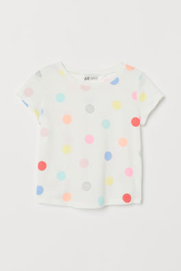 fab4bd225b5a Girls Tops & T-shirts - 18 months - 10 years - Shop online | H&M US