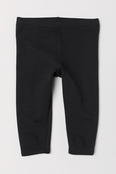 Sweatshirt leggings - Black - Kids | H&M CN