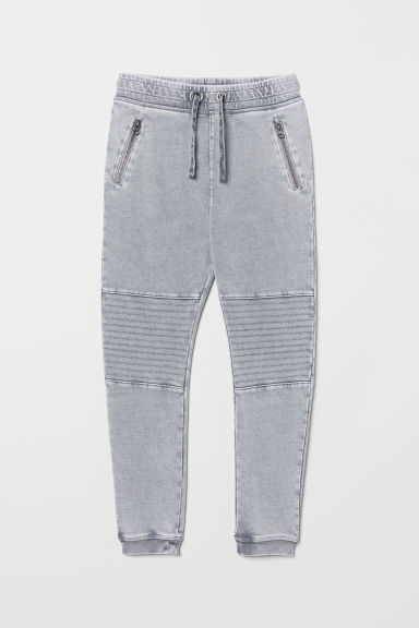 Biker joggers - Light grey - Kids | H&M CN