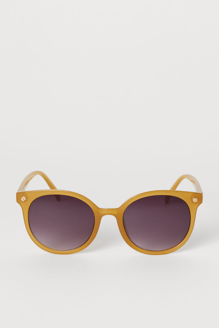 Sunglasses - Dark yellow - Ladies | H&M CA