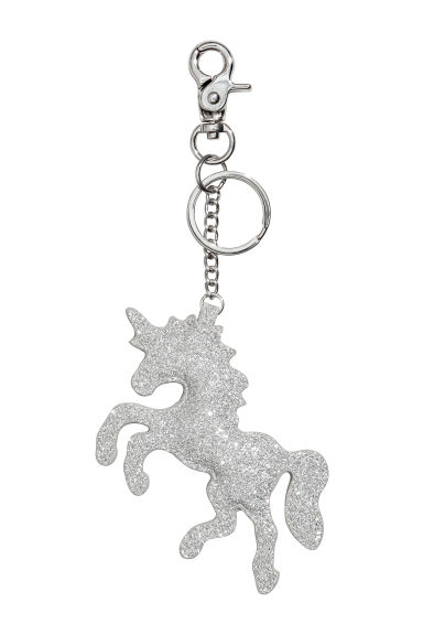 Keyring - Silver-coloured/Unicorn - Ladies | H&M IE