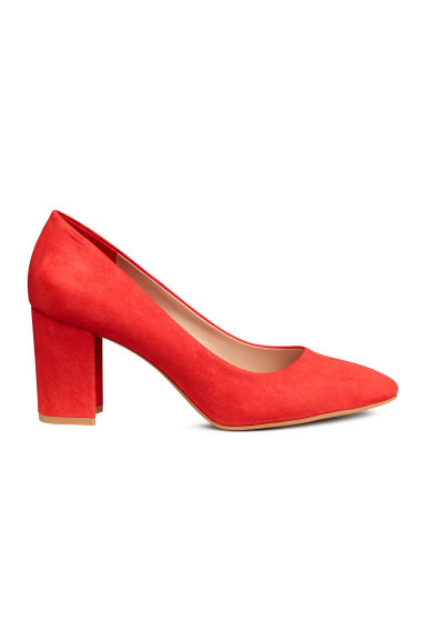 Court shoes - Red - Ladies | H&M GB