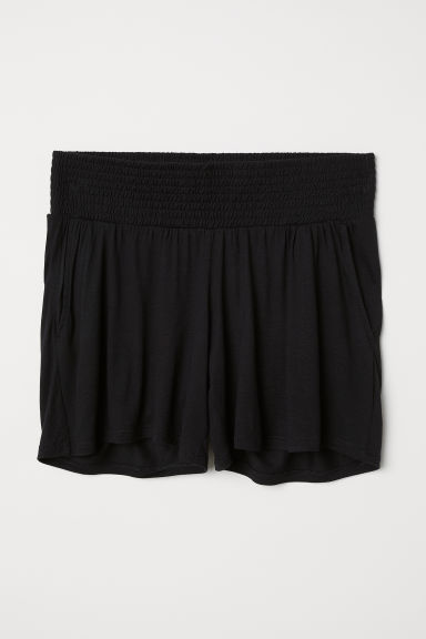 MAMA Jersey shorts - Black - Ladies | H&M