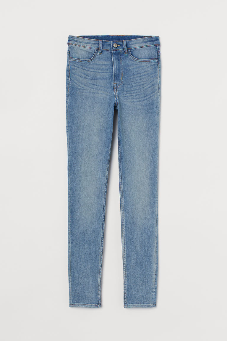 Super Skinny High Jeans - Light blue - Ladies | H&M US