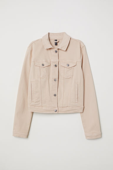 Denim Jacket - Light beige -  | H&M US