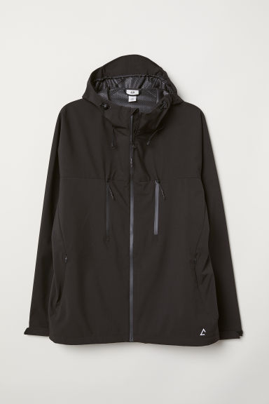 Windproof jacket - Black - Men | H&M CN