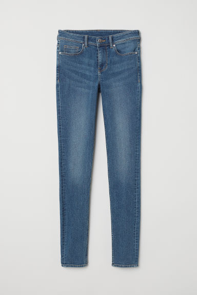 Super Skinny Regular Jeans - Denimblå - DAM | H&M SE