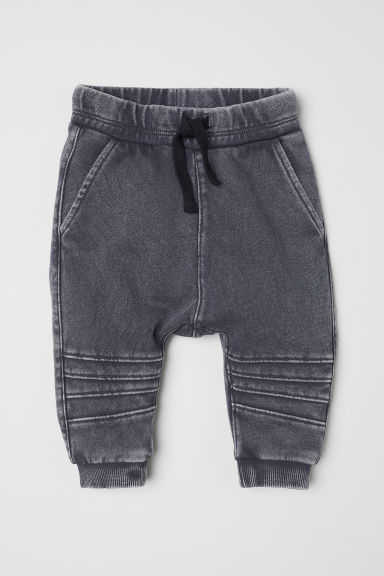 Washed joggers - Dark grey - Kids | H&M CN