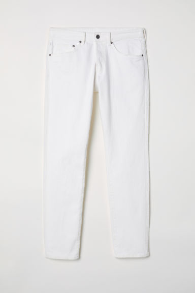 Skinny Jeans - Wit -  | H&M BE