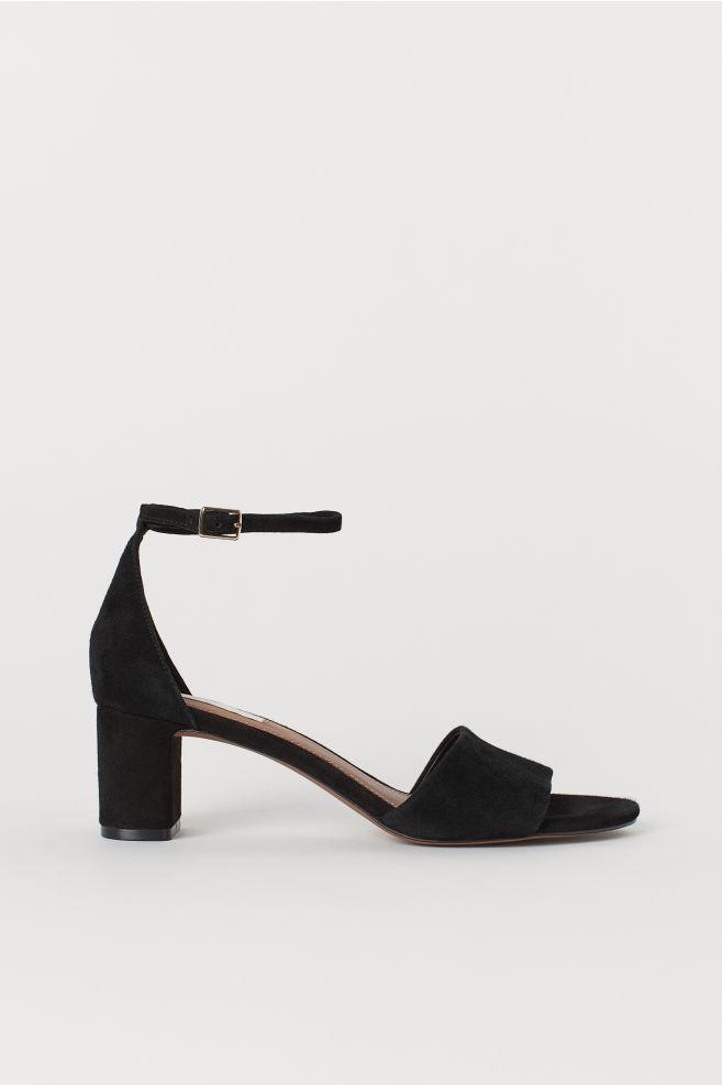 bc3b5bc5799ef3 Sandaletten aus Veloursleder - Schwarz - Ladies
