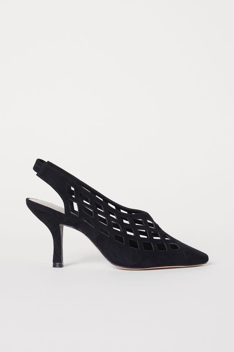 c969abf6fd Sarokpántos cipő masnival - Fekete - NŐI   H&M HU