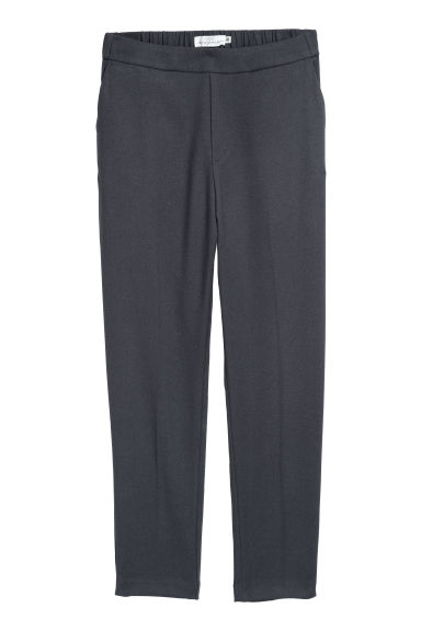Pull-on trousers - Dark grey - Ladies | H&M