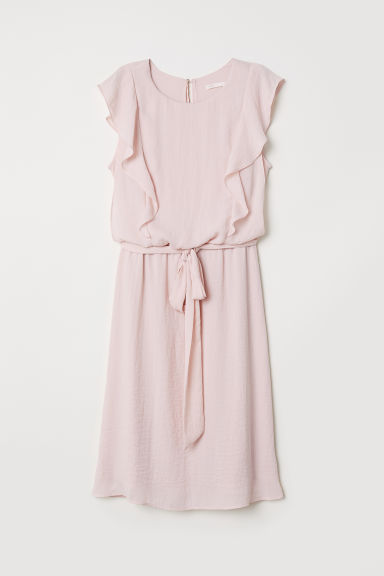 MAMA Nursing dress - Powder pink - Ladies | H&M