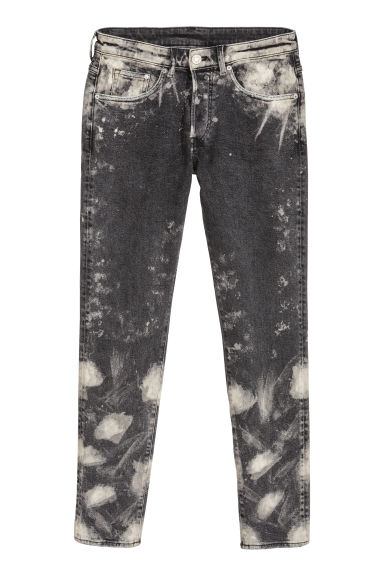 Trashed Skinny Jeans - Nero/sbiadito -  | H&M IT