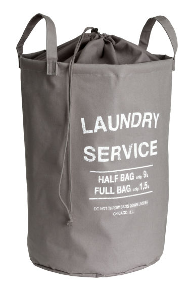 Laundry bag - Grey -  | H&M GB