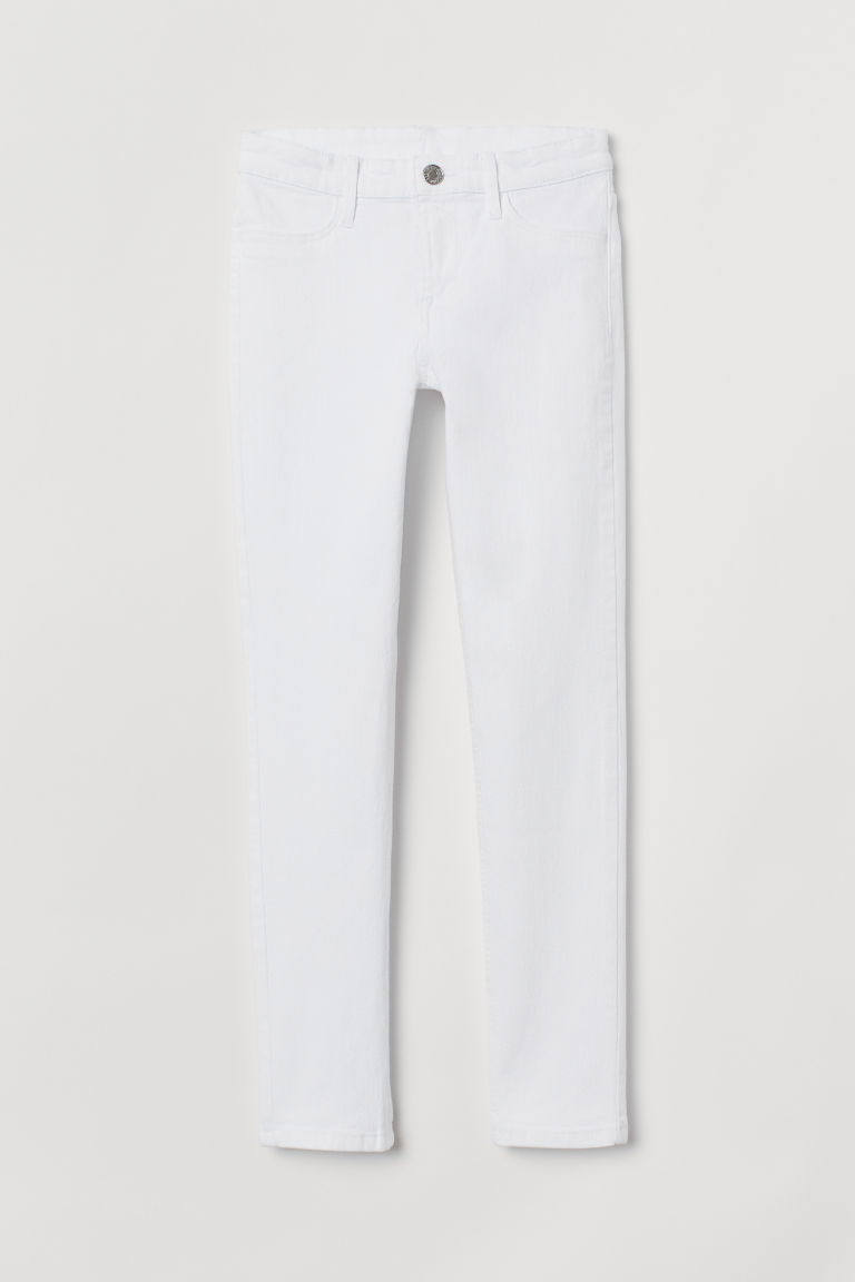 Skinny Fit Jeans - White - Kids | H&M