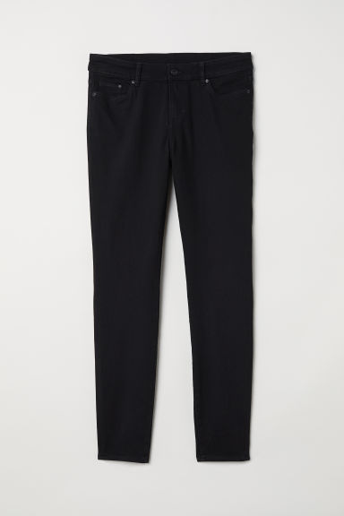 H&M+ Skinny Regular Jeans - Black - Ladies | H&M