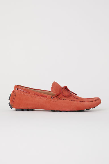 Suede moccasins - Rust - Men | H&M