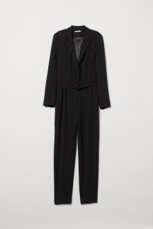 Long-sleeved jumpsuit