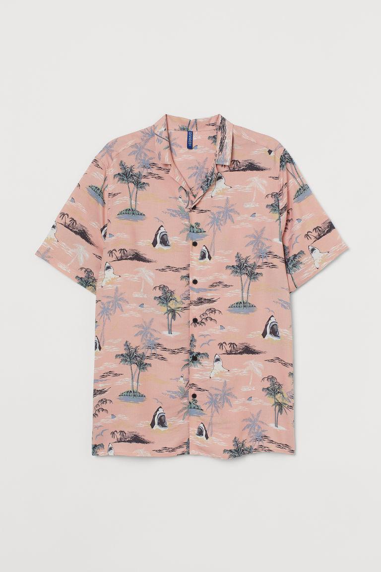 Patterned Resort Shirt