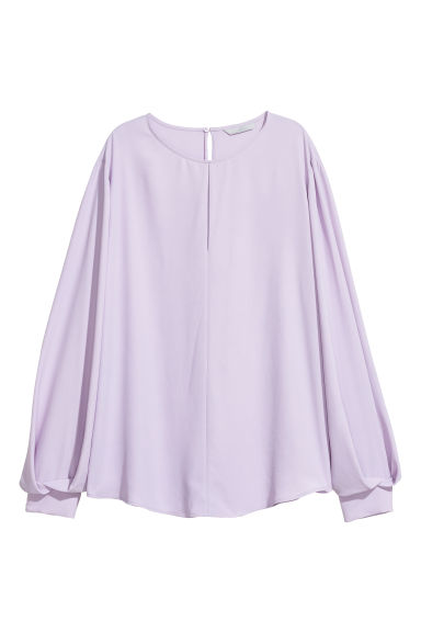 Blouse - Light purple -  | H&M CN