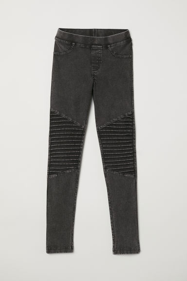 Leggings - Grigio scuro washed out - BAMBINO | H&M IT