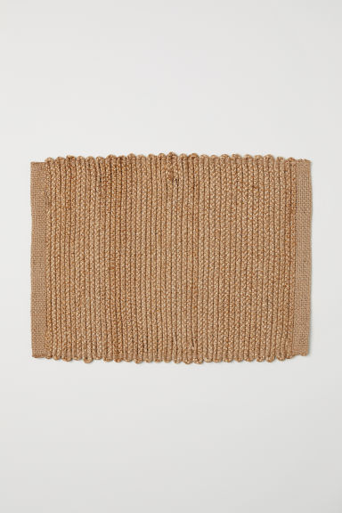 Jute table mat - Jute - Home All | H&M CN