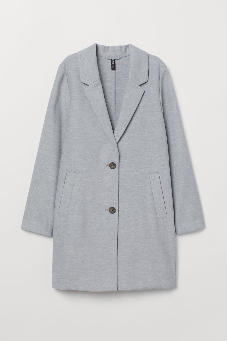 Short coat - Light grey - Ladies | H&M CN