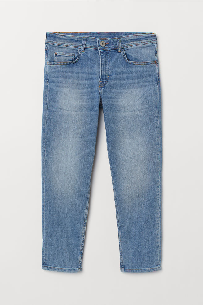 Relaxed Generous Size Jeans Blau Kids Hm At