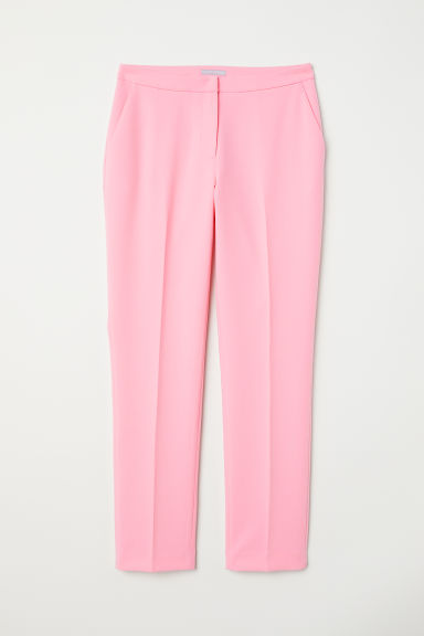 Tailored trousers - Light pink - Ladies | H&M CN