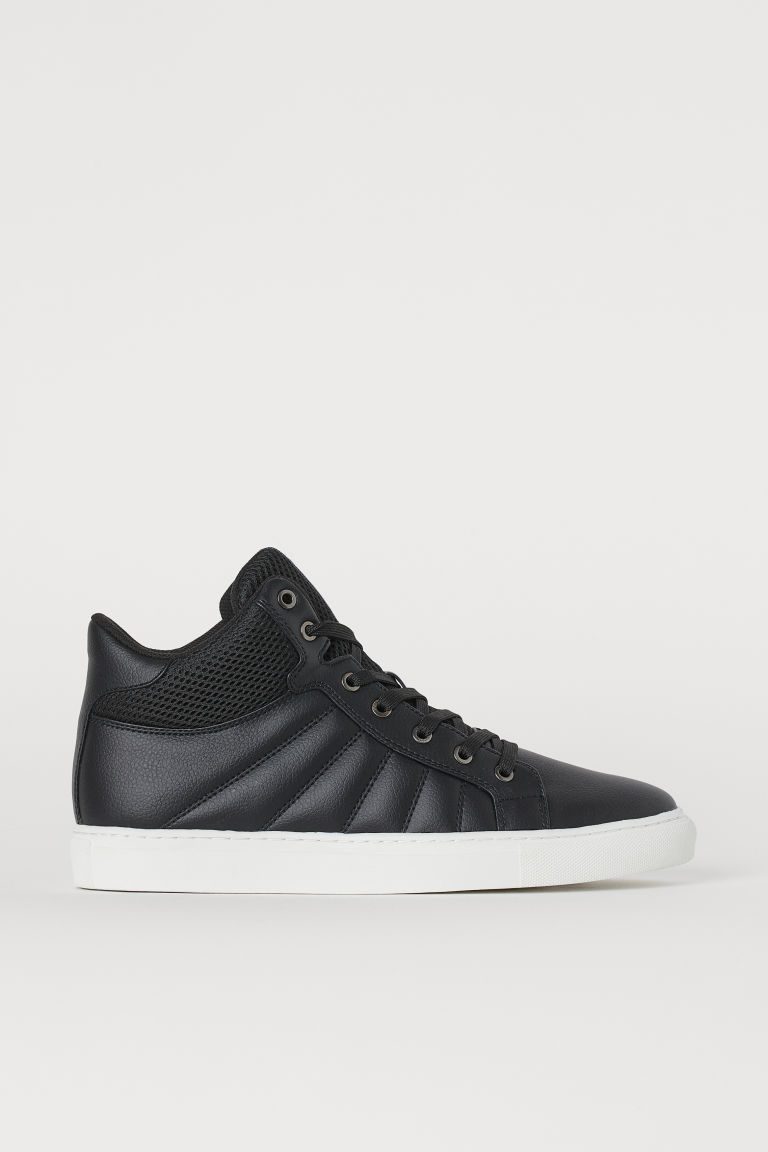 Hi-top trainers - Black - Men | H&M