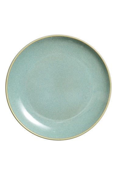 Assiette en porcelaine - Vert ancien - Home All | H&M FR