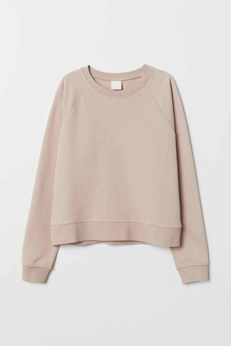 Sweatshirt - Light beige - Ladies | H&M