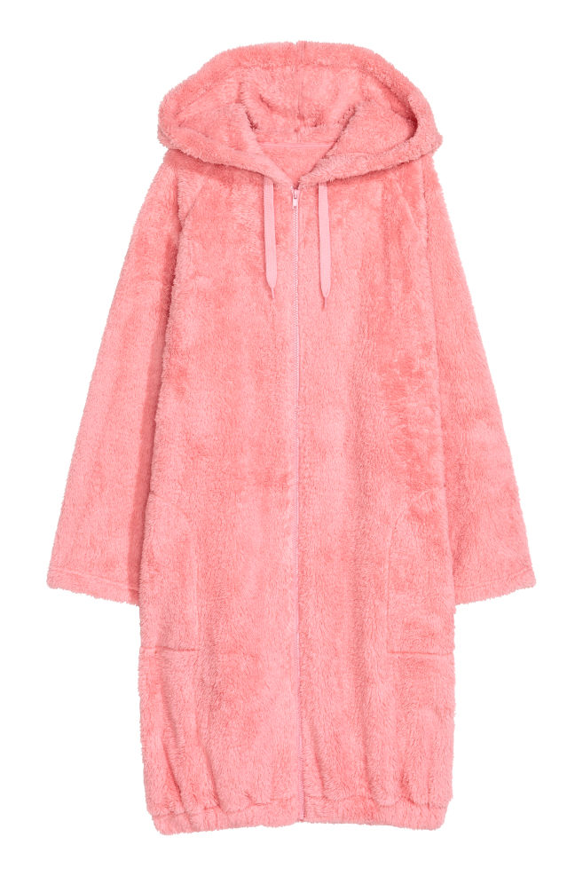 72a94de1fc Hooded dressing gown - Pink - Ladies