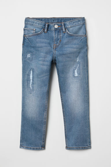 Slim Fit Jeans - Denim blue - Kids | H&M CN