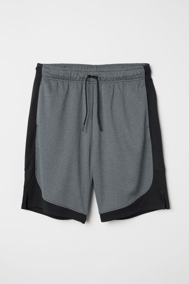 Sports shorts - Dark grey marl - Men | H&M CN