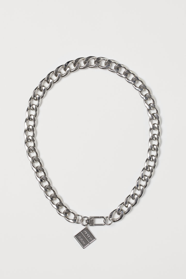 Metal Necklace - Silver-colored -  | H&M US