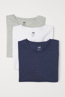 T-shirts Slim fit, lot de 3