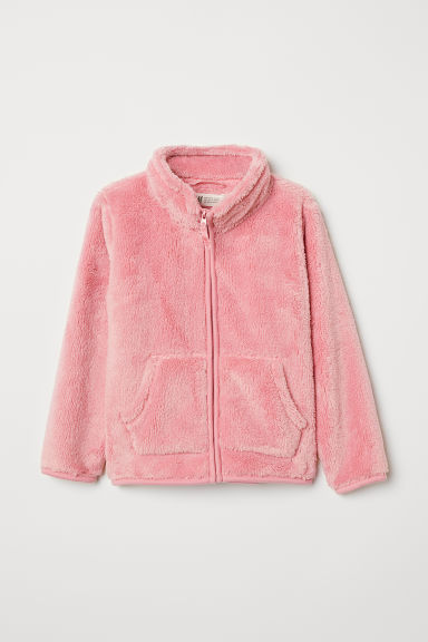 Pile jacket - Light pink - Kids | H&M