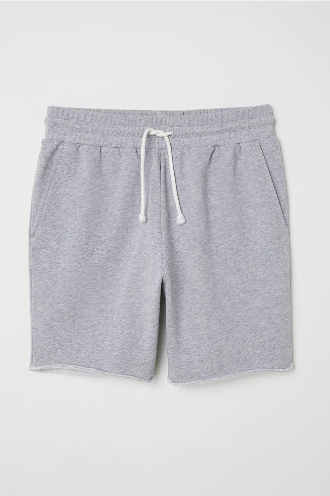 411e6474 Sweatshorts - Gray melange - Men   H&M ...
