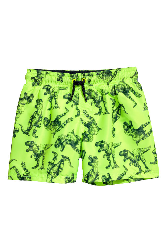 a5a5d62684 ... 2-pack swim shorts - Neon green/Dark blue - Kids | H&M IN