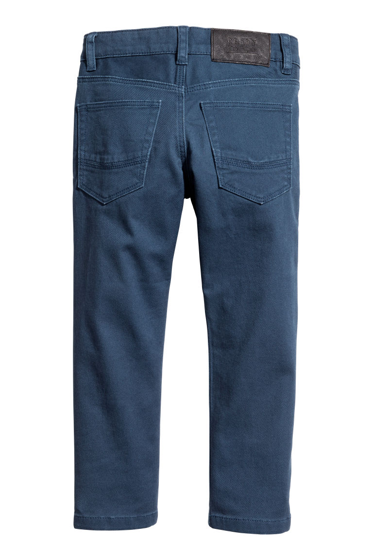 Stretch trousers - Dark blue - Kids | H&M CN